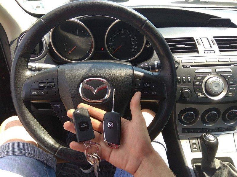 Ключ за Мазда 3 2006г. Изработка на Дубликат