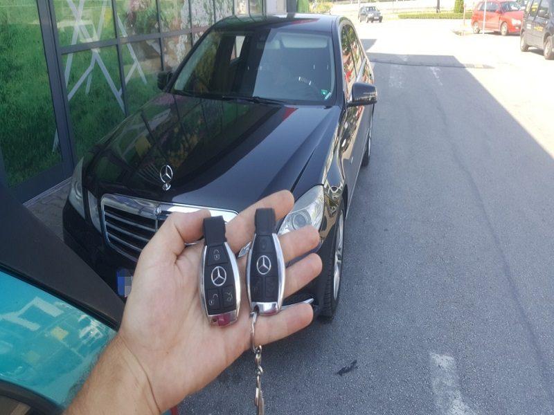 Ключ за Мерцедес Е класа от 2009г. Изработка на Дубликат