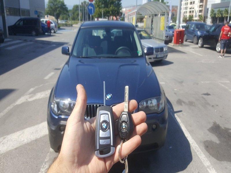 Ключ за БМВ X3 от 2006г. Изработка на Дубликат