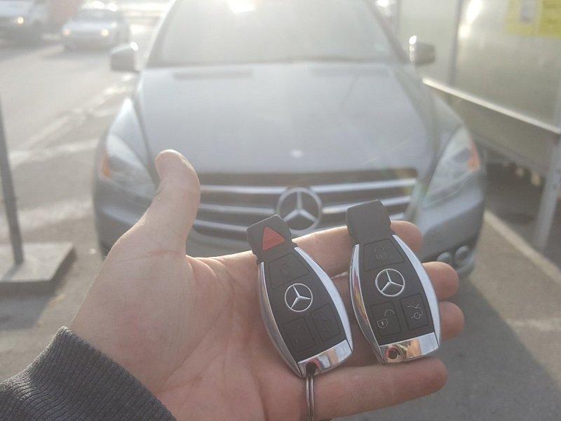 Втори ключ за Мерцедес R Class 2011