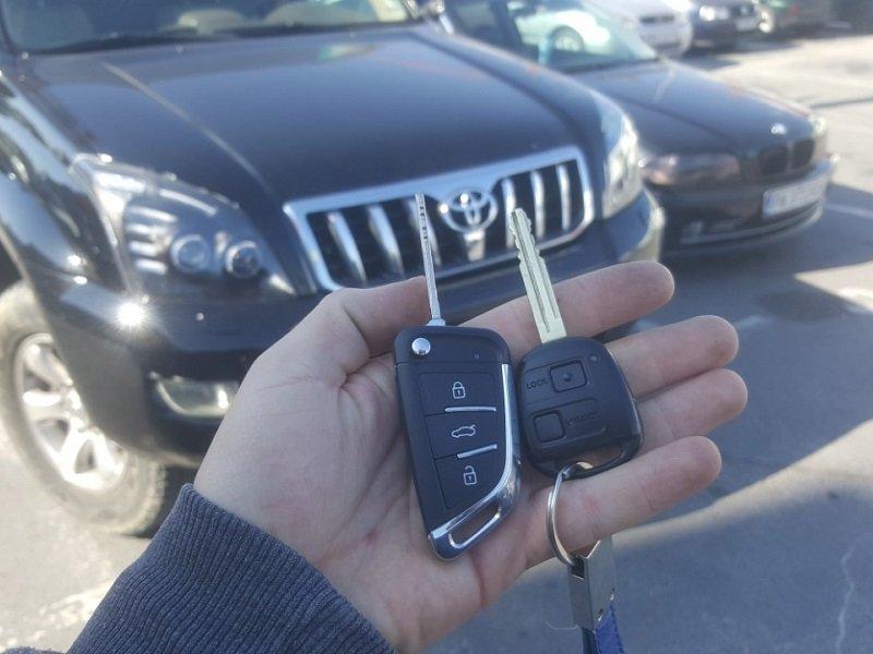 Втори ключ за Toyota Land Cruiser 2008