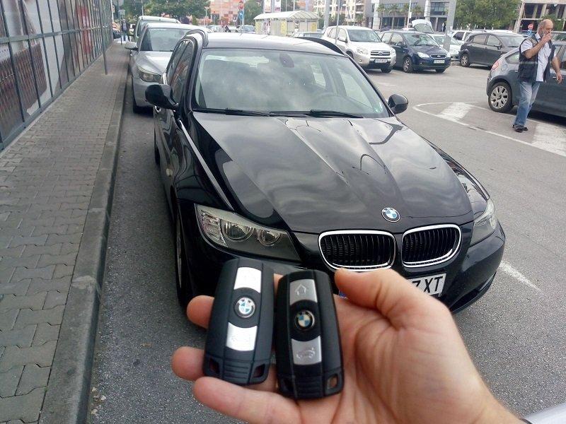 Втори ключ за BMW E91