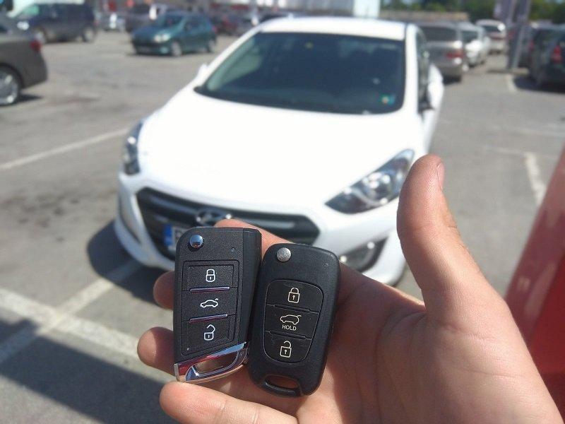 Дубликат на ключ за Hyundai i30 от 2015 година