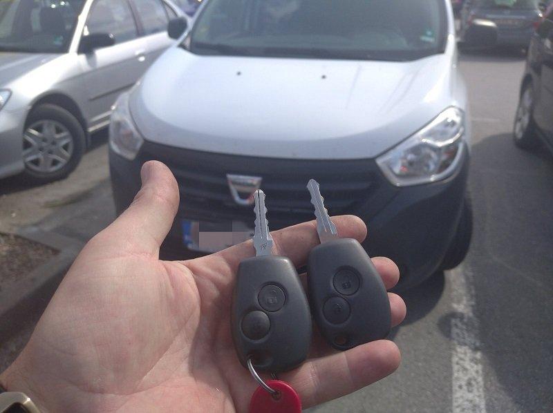 Дубликат ключ Dacia Dokker