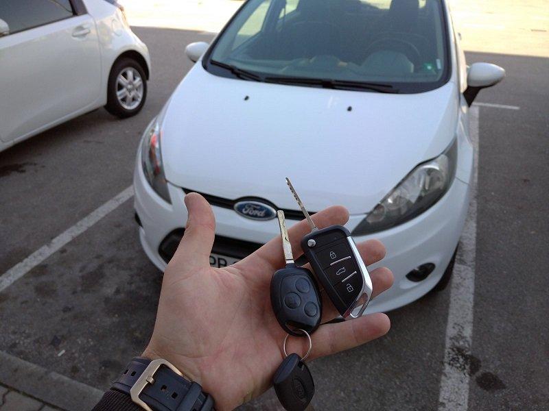 Дубликат ключ Ford Fiesta