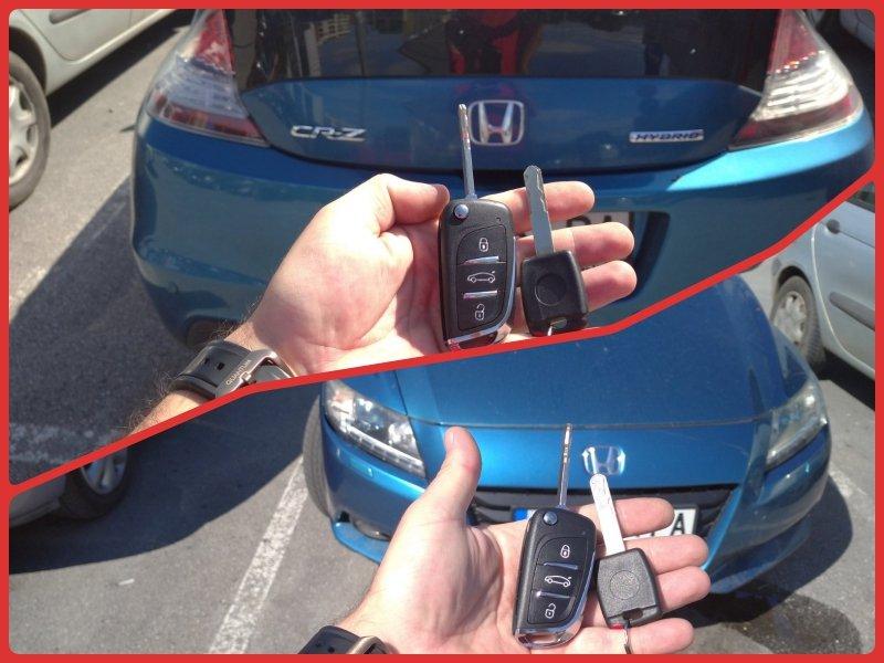 Дубликат ключ Honda CR-Z.