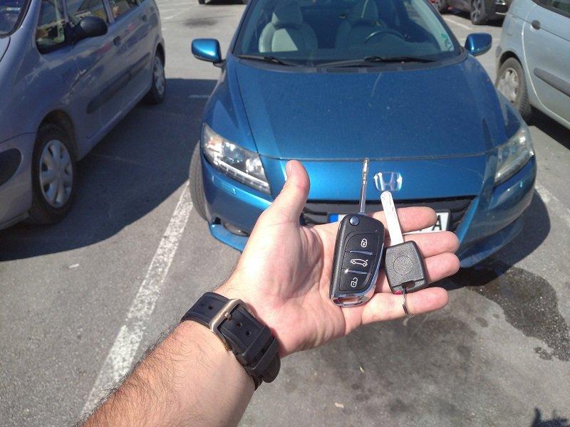 Дубликат ключ Honda CR-Z