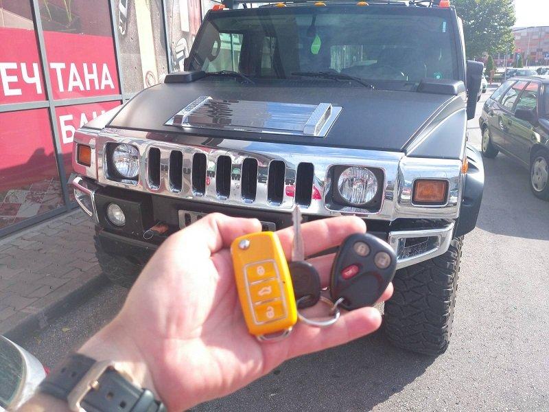 Дубликат ключ Hummer H2