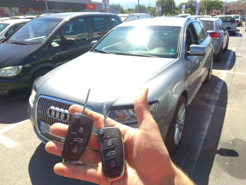 Втори ключ Audi A6