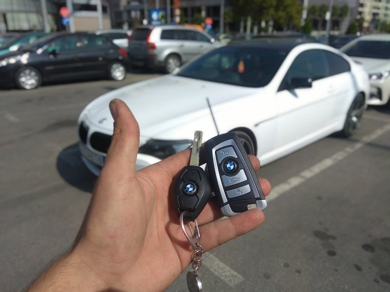 Дубликат ключ BMW 6 series