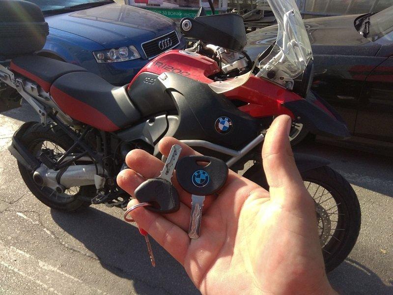 Ключ за BMW R1200GS