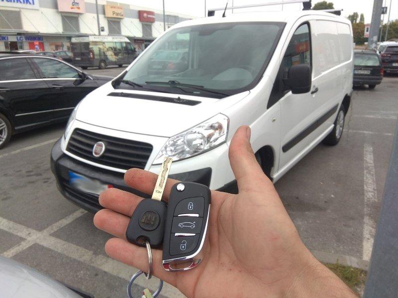 Ключ за Fiat Scudo
