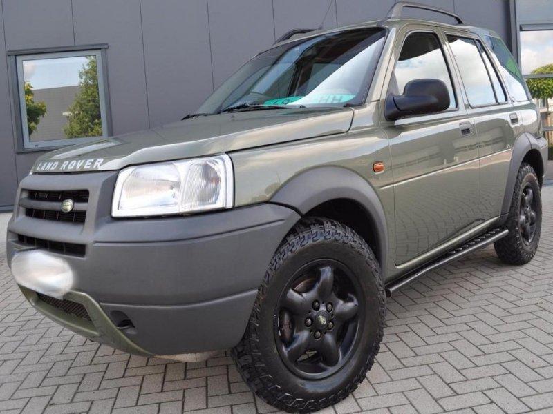 Ключ за Land Rover Freelander