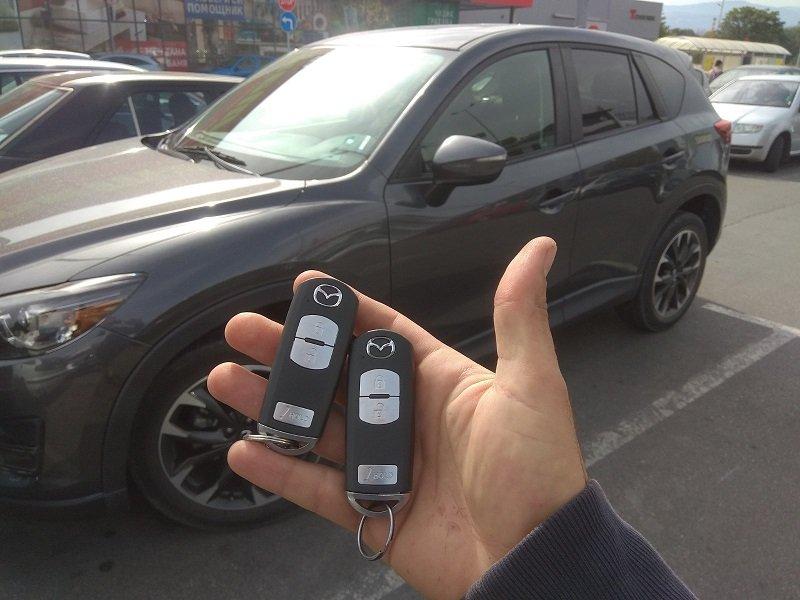 Ключ за Mazda MX5
