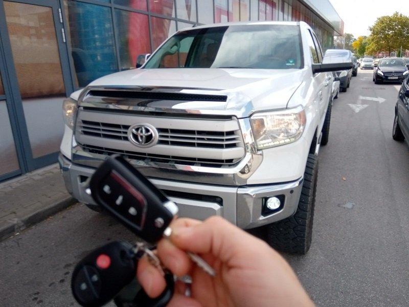 Втори ключ Toyota Tundra