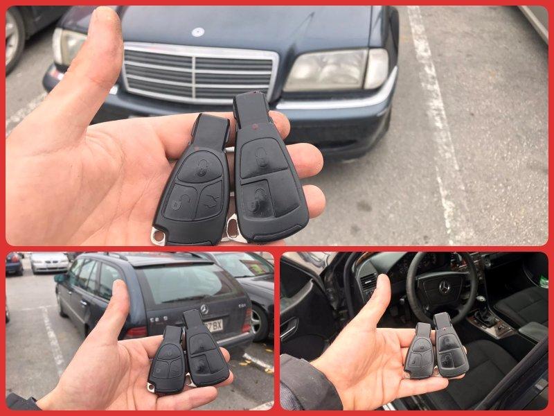 Втори ключ Mercedes C-class 1998