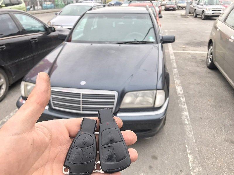 Втори ключ Mercedes C-class